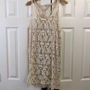 Dresses & Skirts - Lauren Conrad crochet dress